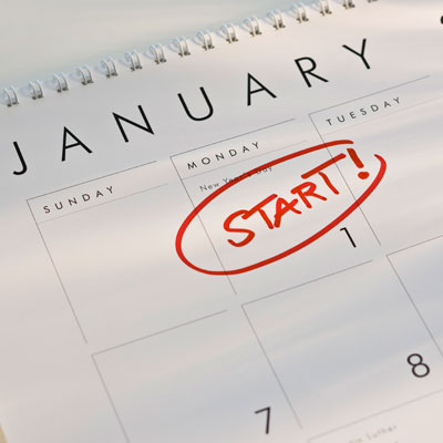 Starting off the Year Right